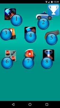 police lights spinner game screenshot 1