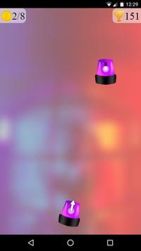 police lights spinner game screenshot 2