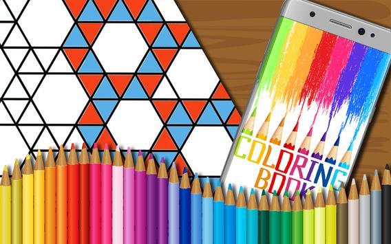 Polygon Coloring Book for Kids screenshot 6