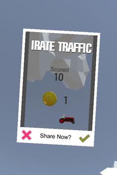 Irate Traffic apk screenshot