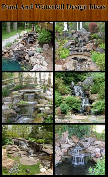 Pond and Waterfall Design Ideas for Android - APK Download