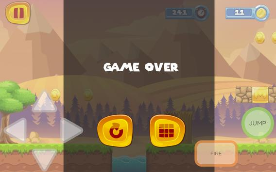 Super Spider World Sandy Man Game screenshot 11