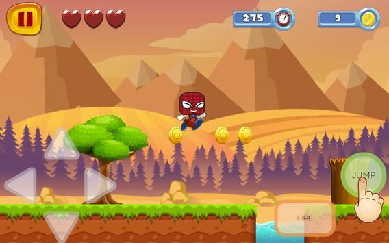 Super Spider World Sandy Man Game screenshot 2