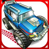 Zombie trucks Death Race icon