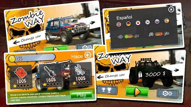 Zombie trucks Death Race poster