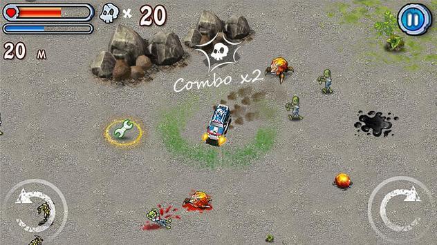 Zombie trucks Death Race screenshot 3