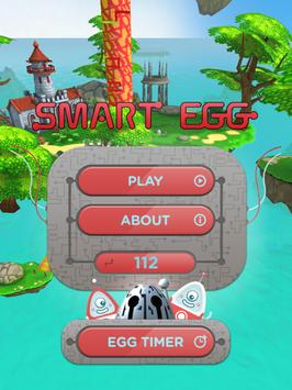Smart Egg - 3D labyrinth tower poster