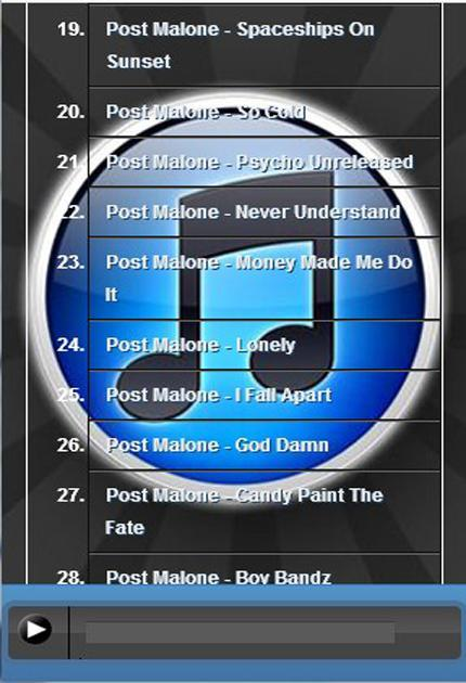Post Malone Rockstar Mp3 For Android Apk Download