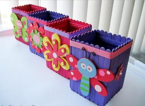Popsicle Stick Craft Ideas screenshot 6