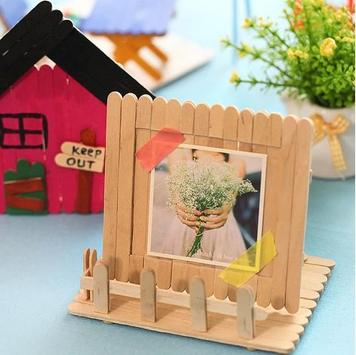 Popsicle Stick Craft Ideas poster