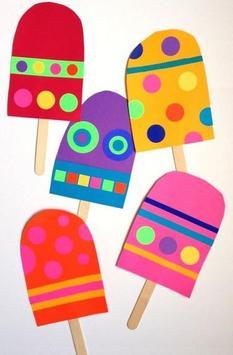 Stick Ice Cream Crafts poster