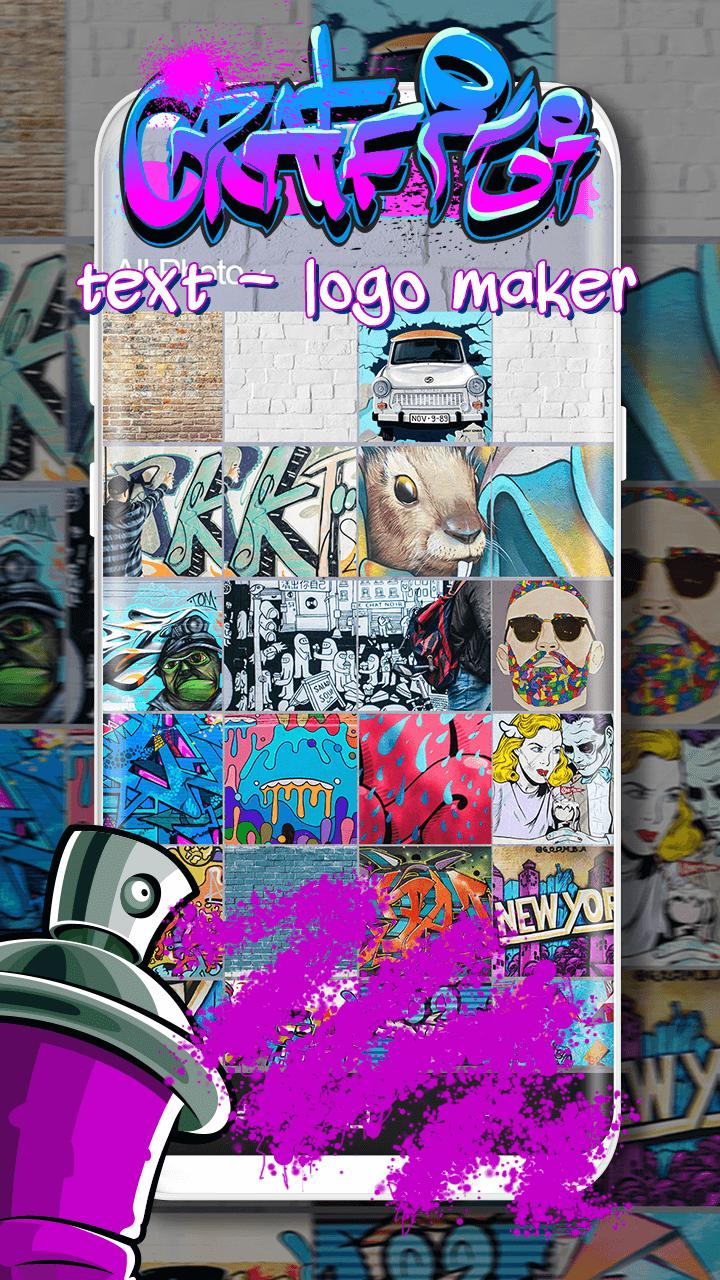 Graffiti Text Logo Maker For Android Apk Download