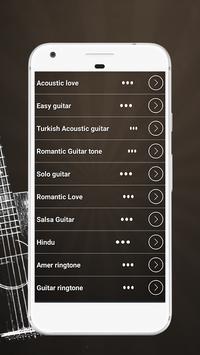 Popular Guitar Ringtones apk screenshot