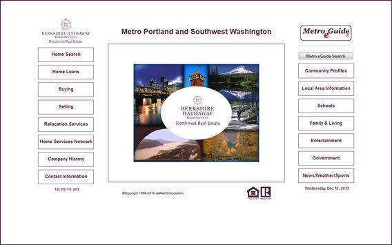 Berkshire Hathaway Portland apk screenshot