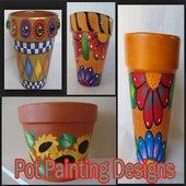 Pot Painting Designs icon