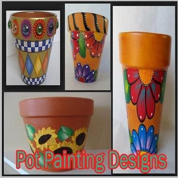 Pot Painting Designs poster