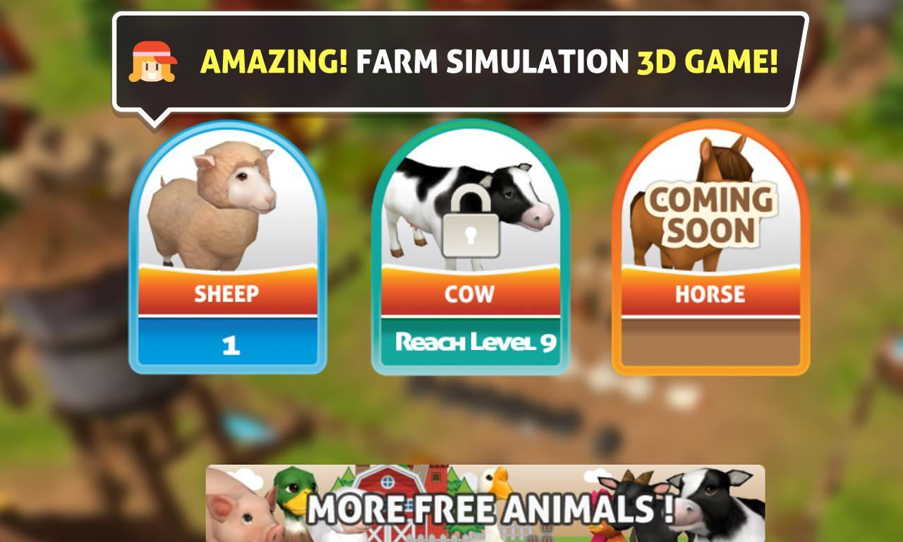 Pig Goat farm 3D for Android - APK Download