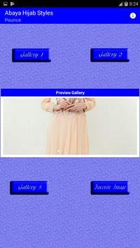 Abaya Hijab Styles poster