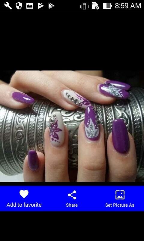 Esmalte de uñas púrpura Descarga APK - Gratis Estilo de vida ...