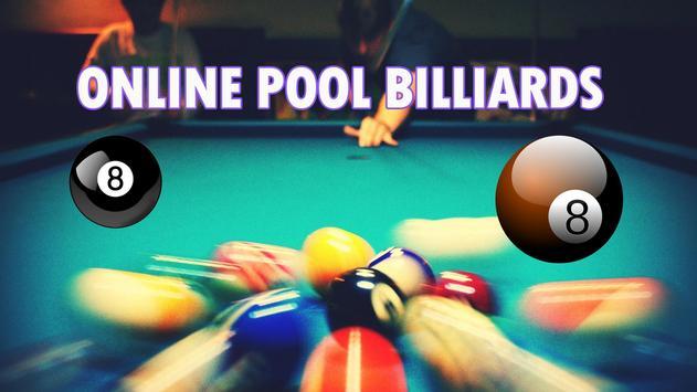 King Billiard 8 Ball poster