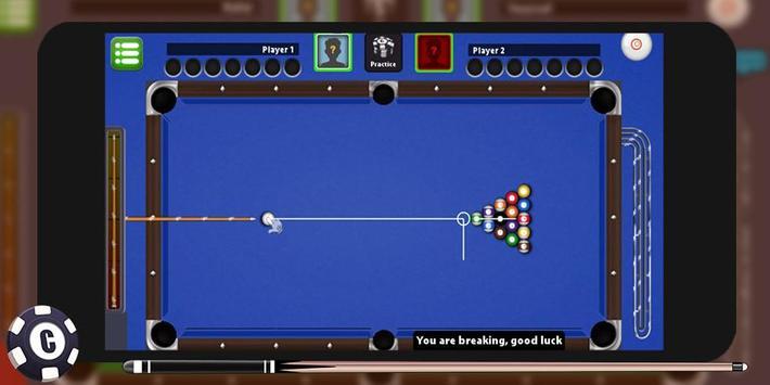 King Billiard 8 Ball screenshot 1