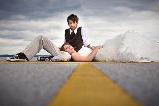 The idea of pre wedding pose screenshot 4