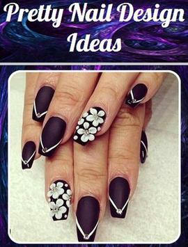 Pretty Nail Design Ideas poster