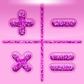 Pretty Pink Glitter Calculator icon