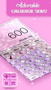 Pretty Pink Glitter Calculator screenshot 3