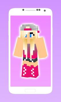 Pretty minecraft girl skins screenshot 1