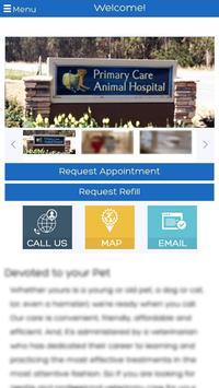 Primary Care Animal Hospital screenshot 1