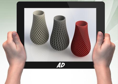 3D Printed Vase screenshot 3