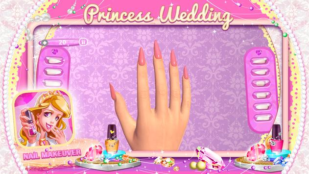 Princess Wedding Nail Makeover screenshot 3