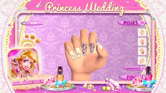 Princess Wedding Nail Makeover screenshot 2