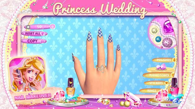 Princess Wedding Nail Makeover screenshot 4