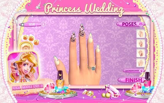 Princess Wedding Nail Makeover screenshot 6