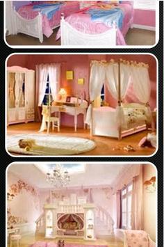 Princess Theme Bedroom apk screenshot