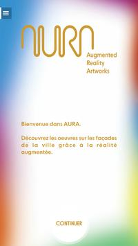 AURA - Augmented Reality Artworks poster