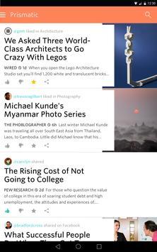 Prismatic: Social News apk screenshot