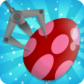 prize claw eggs game icon