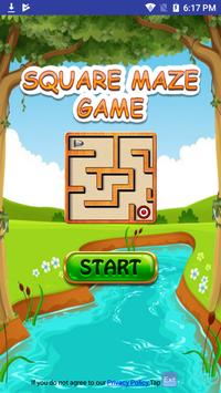 Free Square Maze Game for Android Mobile & Tabs poster