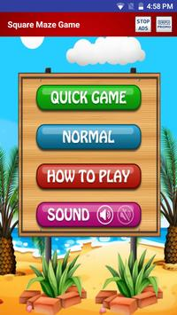 Free Square Maze Game for Android Mobile & Tabs screenshot 3