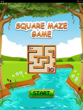 Free Square Maze Game for Android Mobile & Tabs screenshot 8