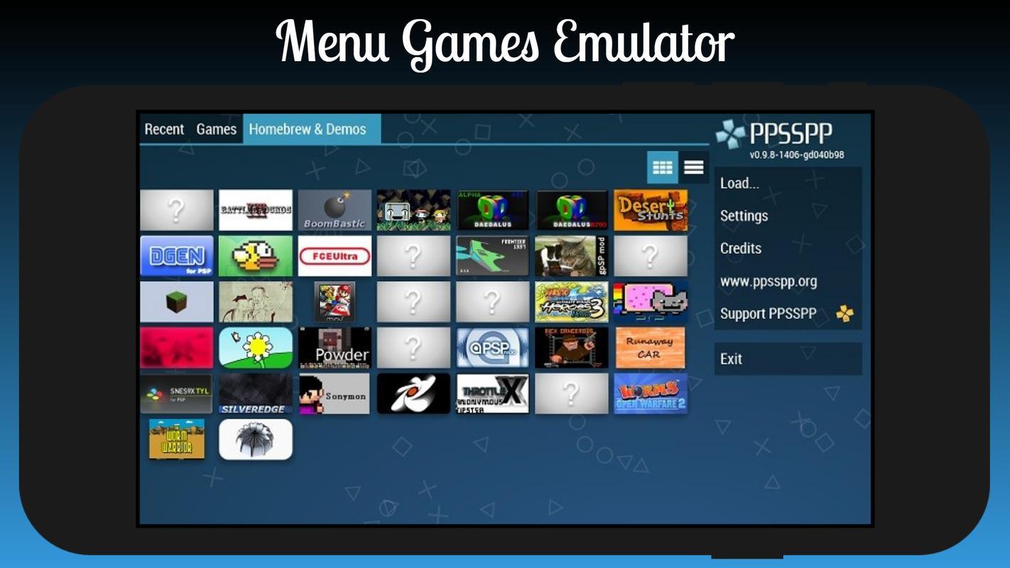 Ppsspp psp emulator apk 1. 7. 5 for android download apkgeny.