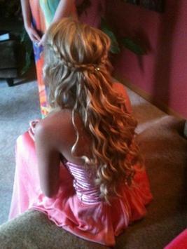 Prom hairstyles apk screenshot
