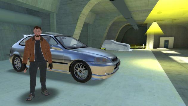 Civic Drift Simulator poster