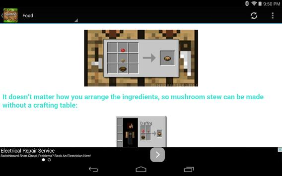 Crafting Guide for Minecraft screenshot 3