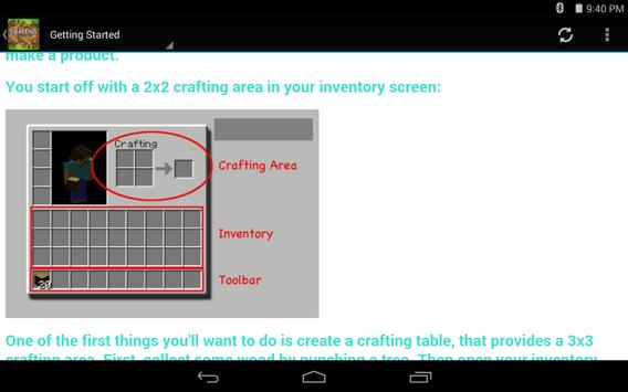 Crafting Guide for Minecraft screenshot 6