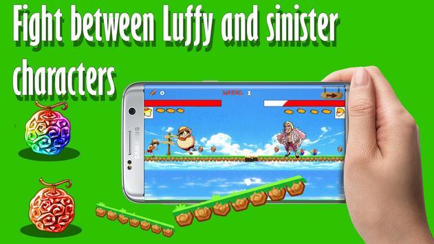 Game pirates luffy run apk screenshot