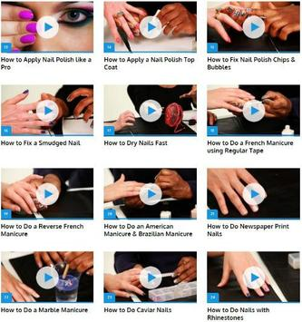 Professional Manicure Tutorials screenshot 1